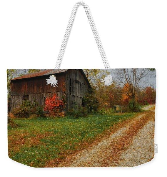 Mystical Country Lane  Weekender Tote Bag