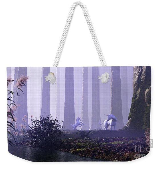 Mystical Forest Weekender Tote Bag