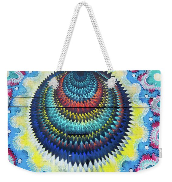 Weekender Tote Bag featuring the photograph Mystical Ride by Robin Zygelman