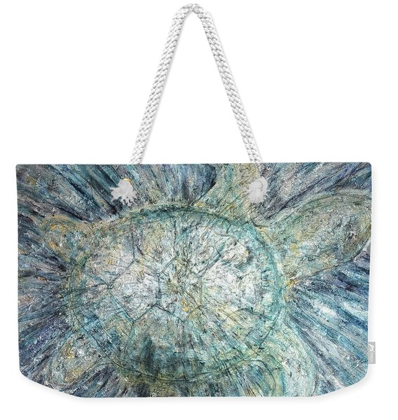 Mystical Sea Turtle Weekender Tote Bag