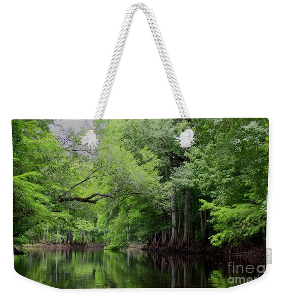 Mystical Withlacoochee River Weekender Tote Bag