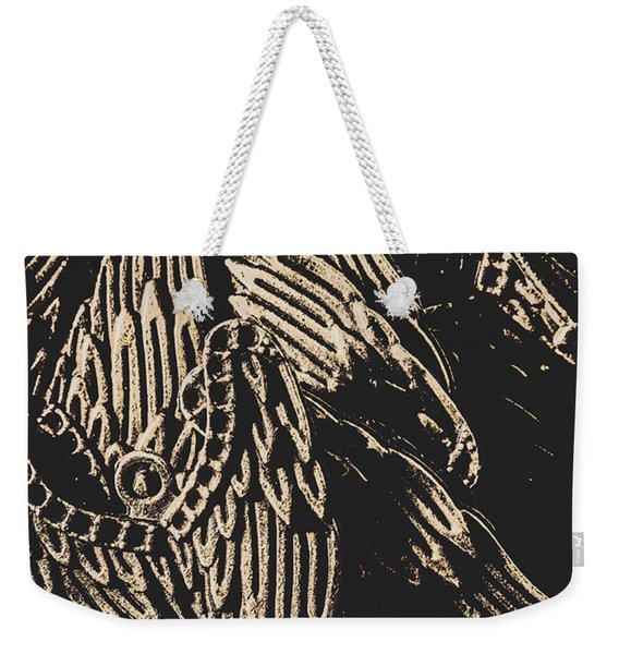 Mythical Angels From History Past Weekender Tote Bag