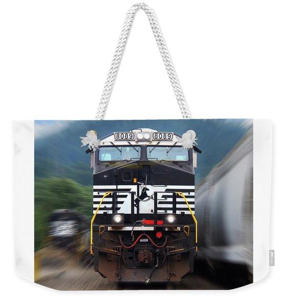 N S 8089 On The Move Weekender Tote Bag