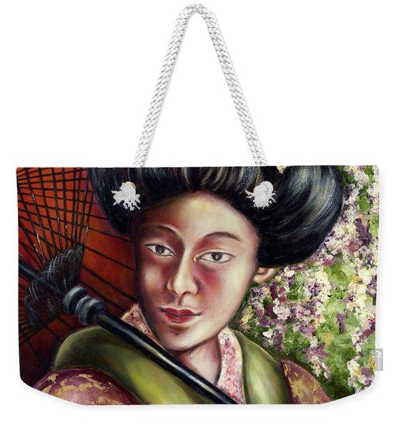 Nadeshiko Weekender Tote Bag