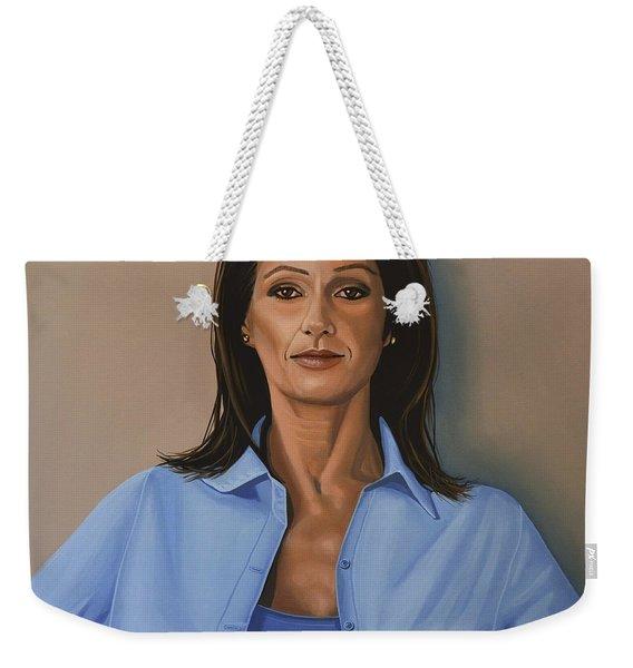 Nadia Comaneci Weekender Tote Bag