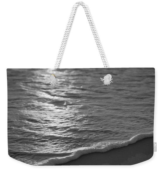 Nags Head First Light Bw Weekender Tote Bag