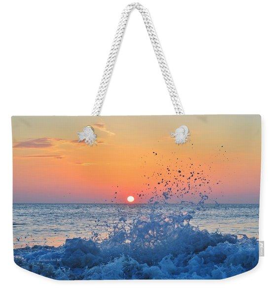 Nags Head Sunrise 7/15/16 Weekender Tote Bag