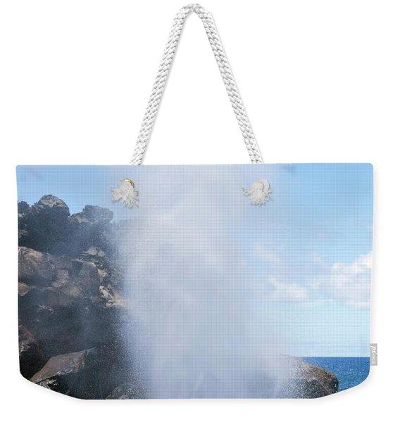 Nakalele Blowhole Weekender Tote Bag