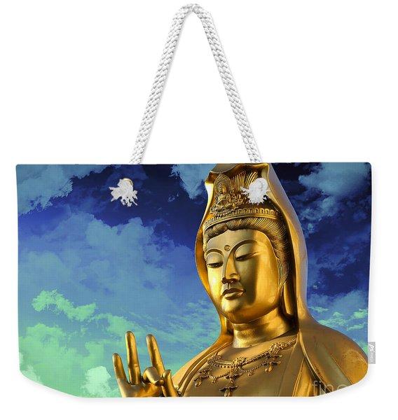 Namo Guan Shi Yin Pusa Weekender Tote Bag