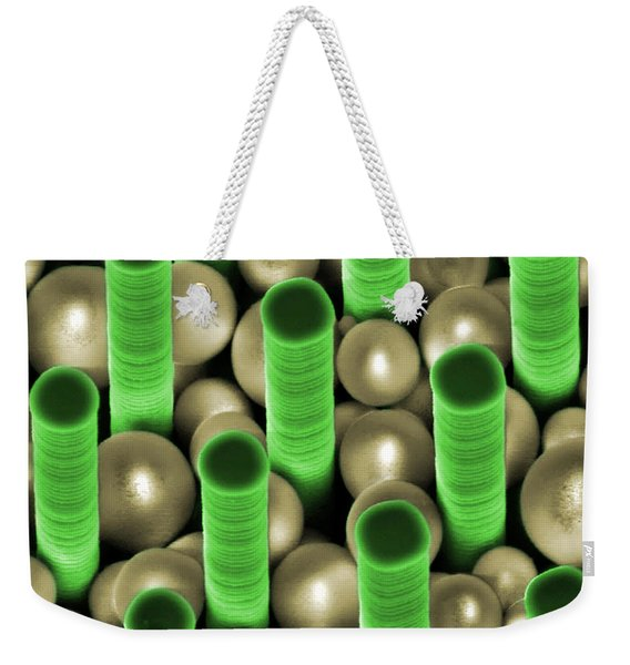 Nanoparticle Trapping, Nanotechnology Weekender Tote Bag