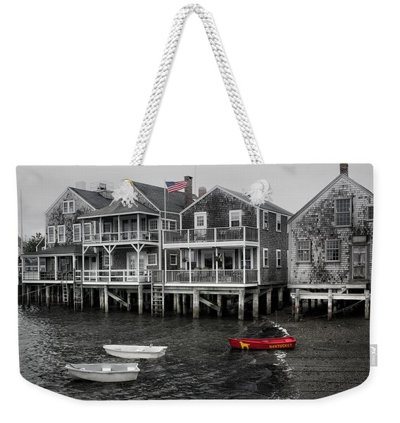 Nantucket In Bw Series 6139 Weekender Tote Bag