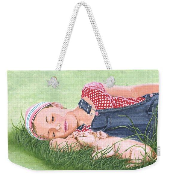 Nap Time Together Weekender Tote Bag