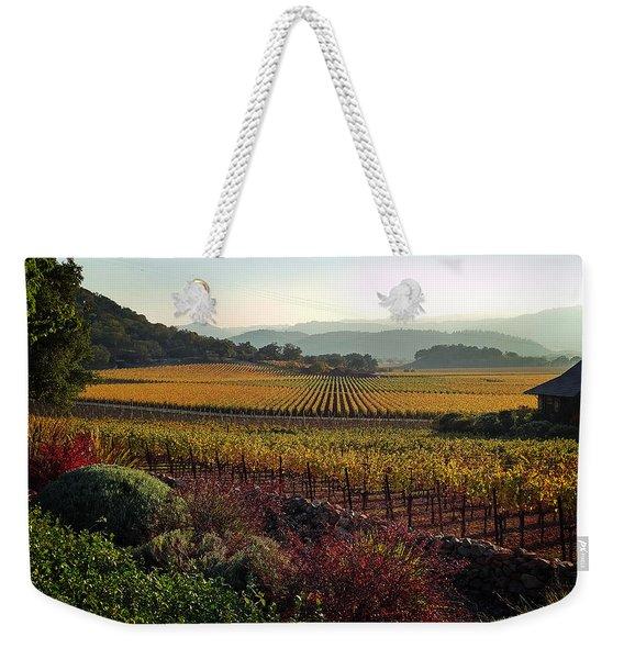 Napa Valley California Weekender Tote Bag