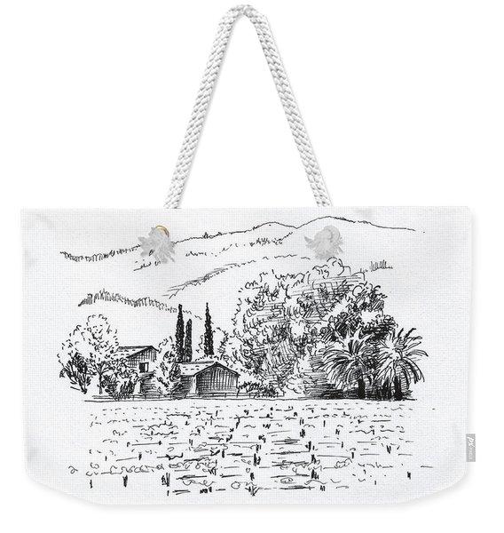 Napa Valley Weekender Tote Bag