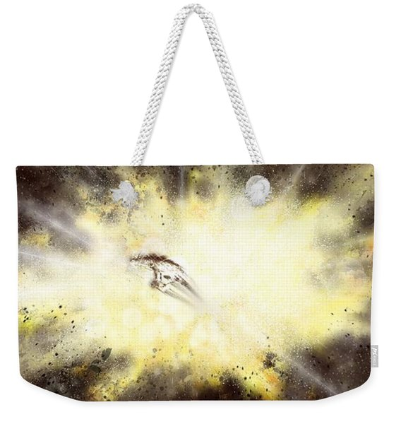 Narrow Escape Weekender Tote Bag