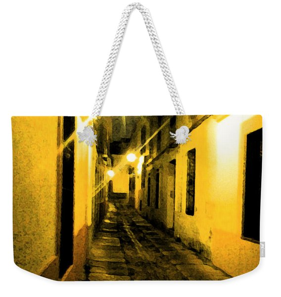 Narrow Weekender Tote Bag