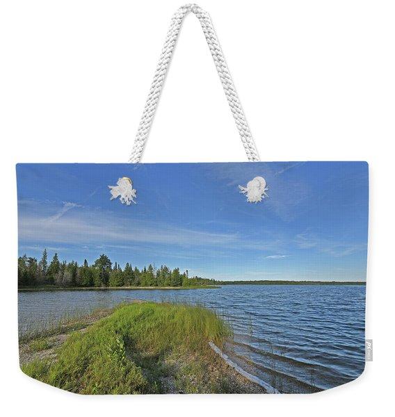 Narrows Point Of View Weekender Tote Bag