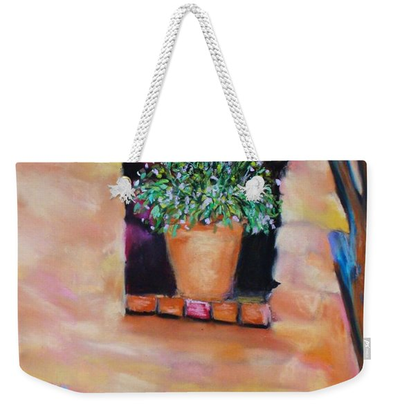 Nash's Courtyard Weekender Tote Bag