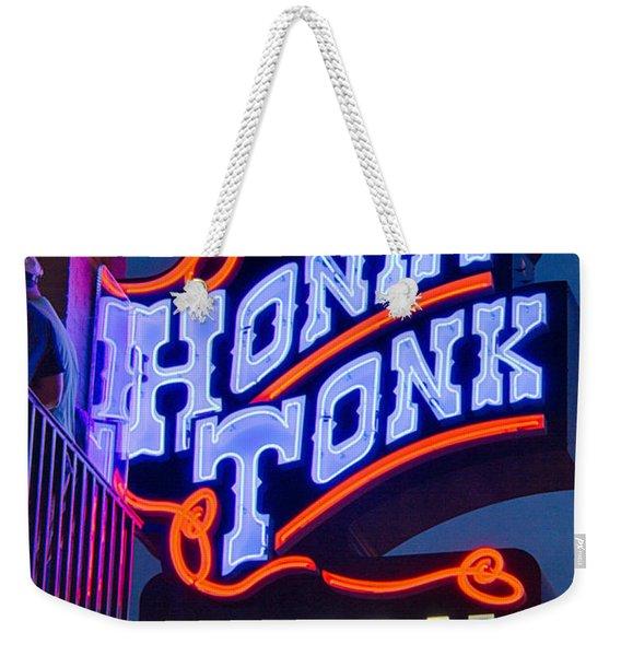 Nashville Honky Tonk Central Weekender Tote Bag
