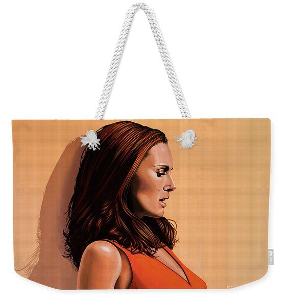 Natalie Portman 2 Weekender Tote Bag