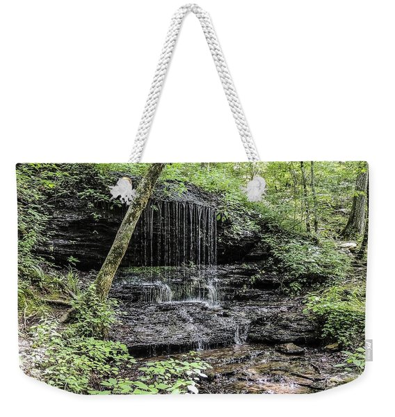 Natchez Trace Waterfall Weekender Tote Bag