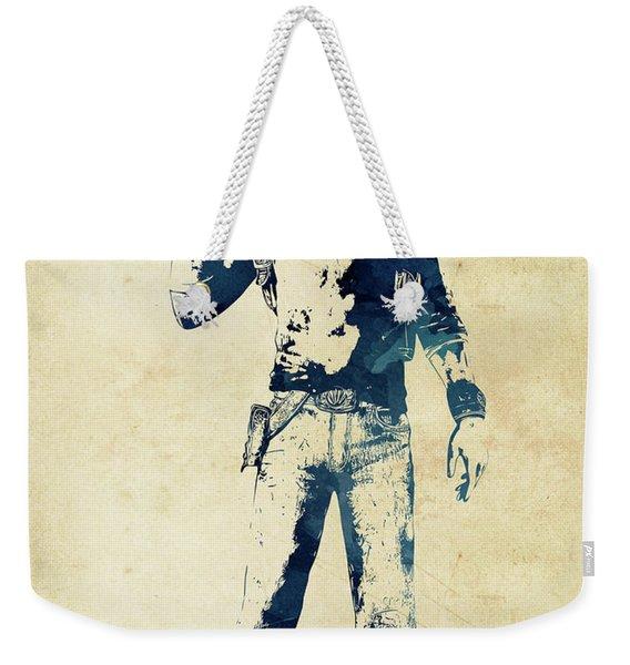 Nathan Drake Weekender Tote Bag