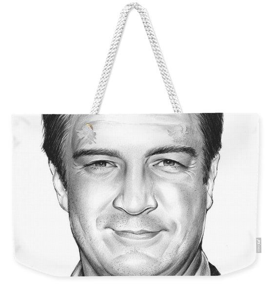 Nathan Fillion Weekender Tote Bag
