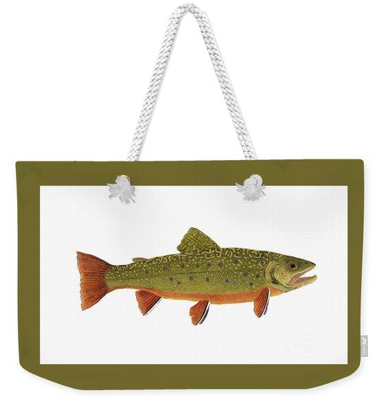 Native Brook Trout Weekender Tote Bag