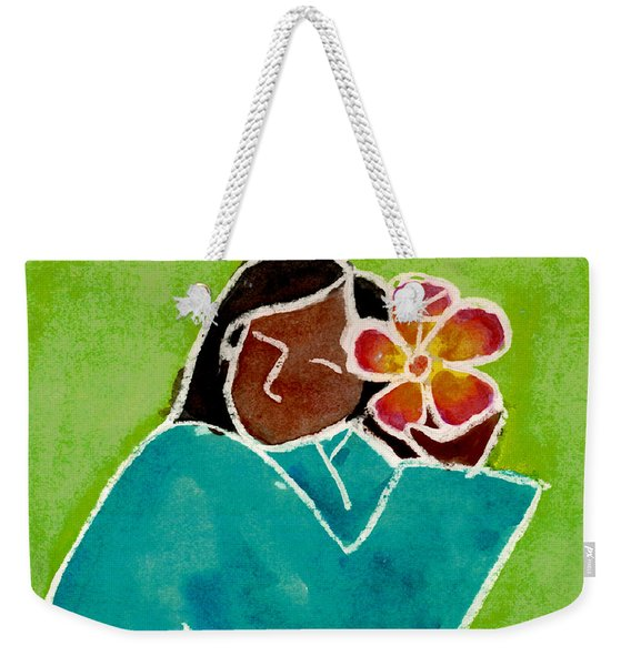Native Girl Weekender Tote Bag