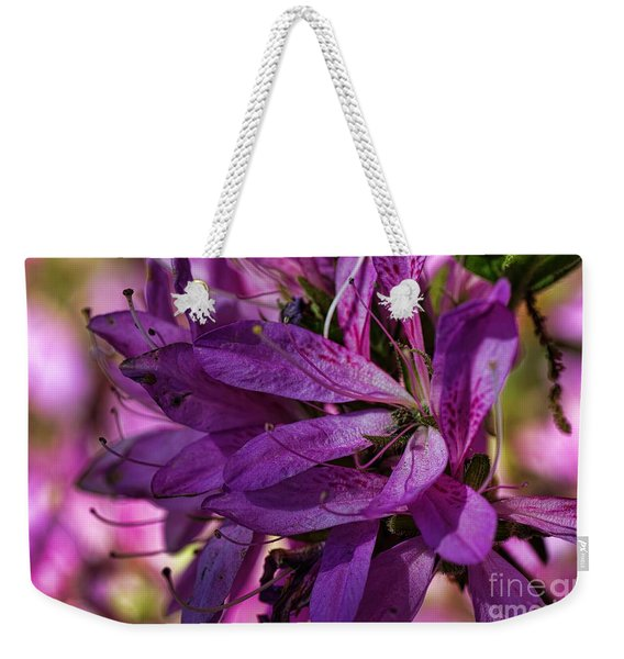 Native Long Petals Weekender Tote Bag