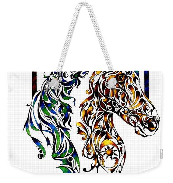 Native Spirit Weekender Tote Bag