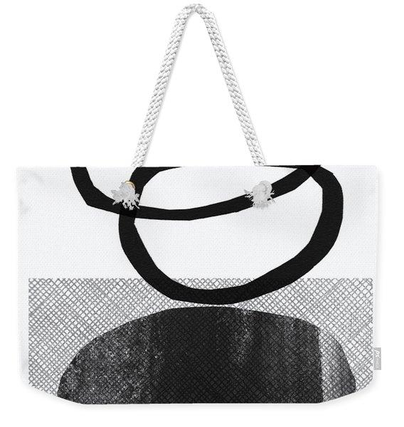 Natural Balance- Abstract Art Weekender Tote Bag