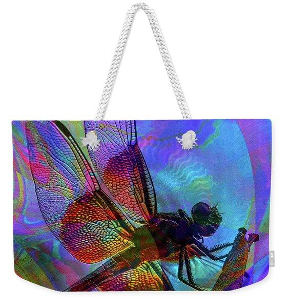 Weekender Tote Bag featuring the digital art Natural Beauty I by Visual Artist Frank Bonilla