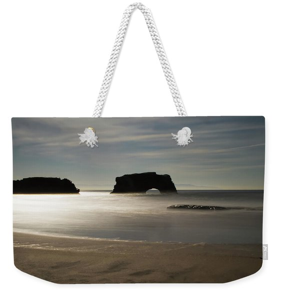 Natural Bridges State Beach Sand Weekender Tote Bag