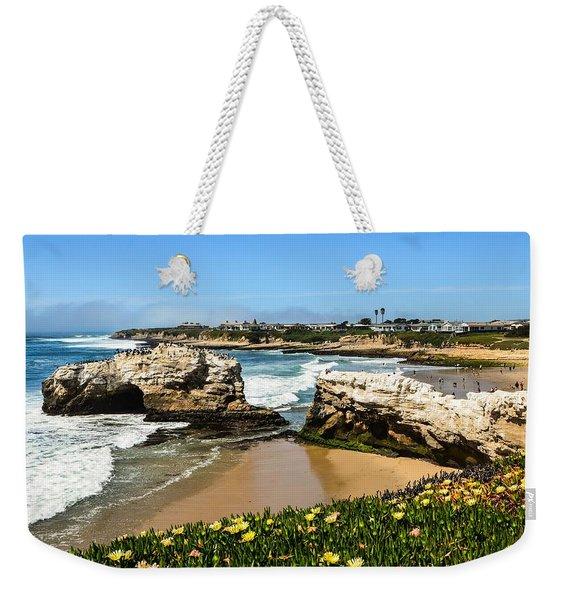 Natural Bridges State Park Beach Weekender Tote Bag