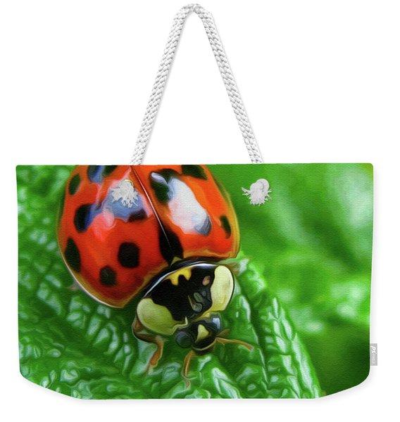Natural Color Contrast Weekender Tote Bag