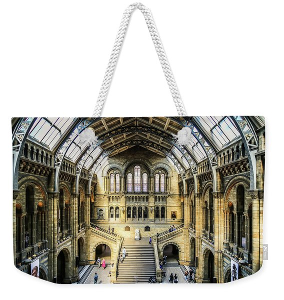 Weekender Tote Bag featuring the photograph Natural History  by Michael Hope