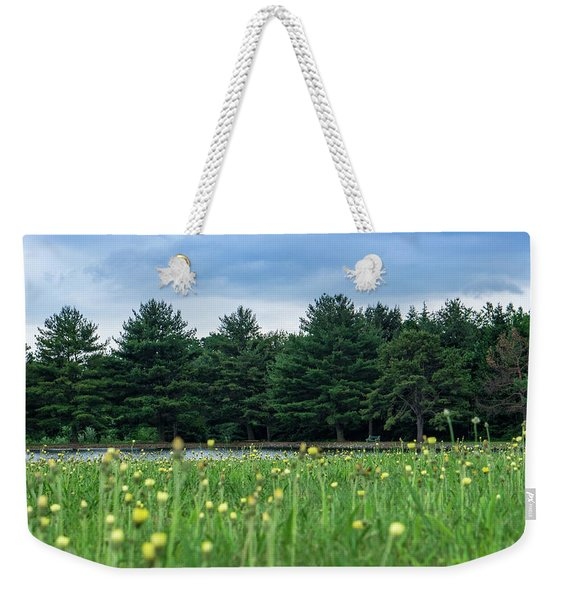 Evergreen Lake - A Groundhog View Weekender Tote Bag