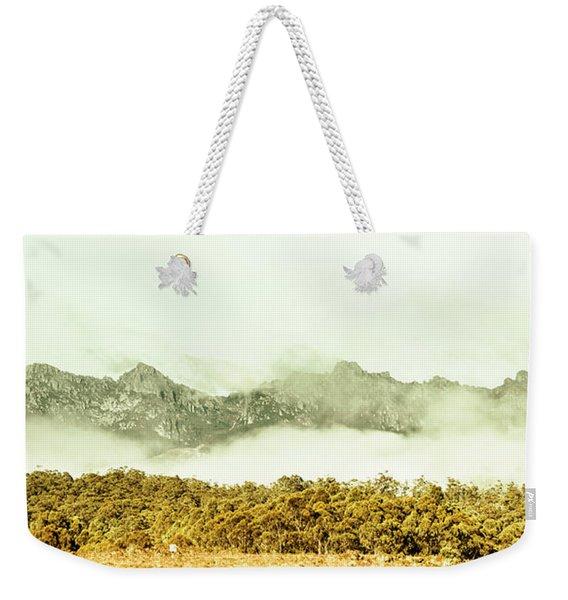 Natural Mountain Beauty Weekender Tote Bag