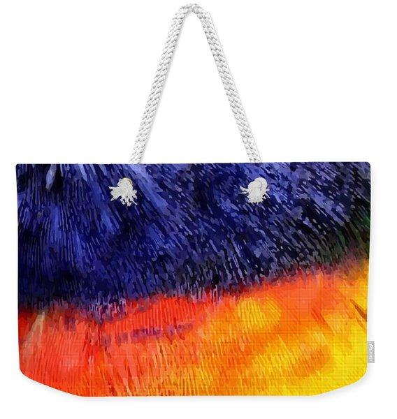 Natural Painter Weekender Tote Bag