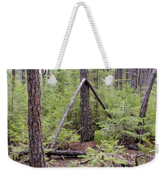 Natural Peace In The Woods Weekender Tote Bag