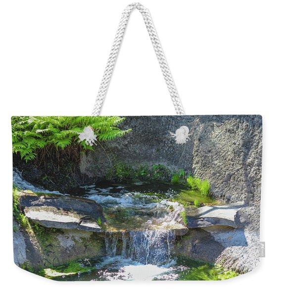 Natural Spa Zone Weekender Tote Bag