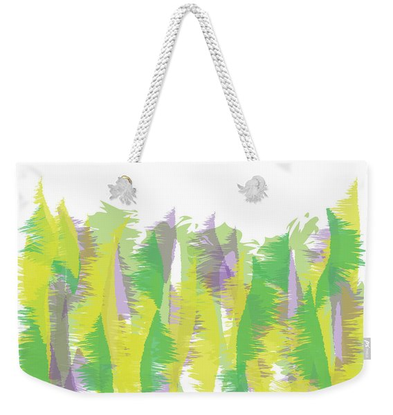 Nature - Abstract Weekender Tote Bag