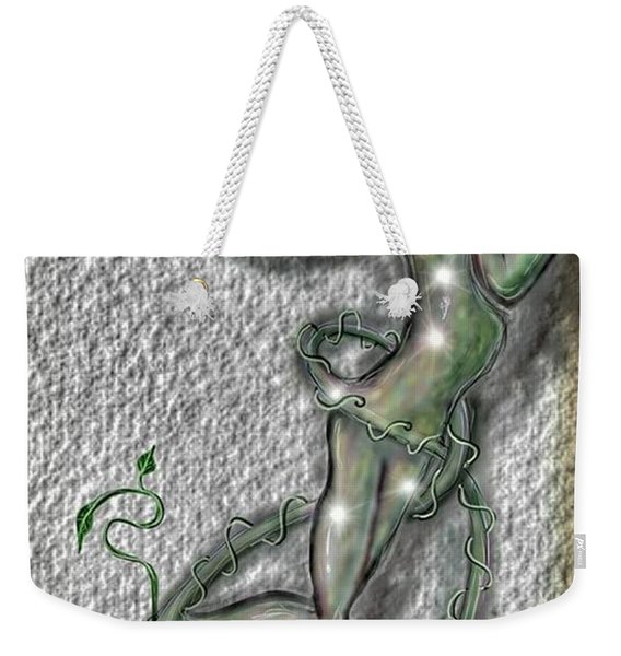 Nature And Man Weekender Tote Bag