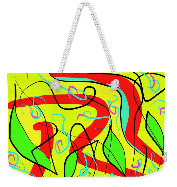 Nature And Silence Weekender Tote Bag