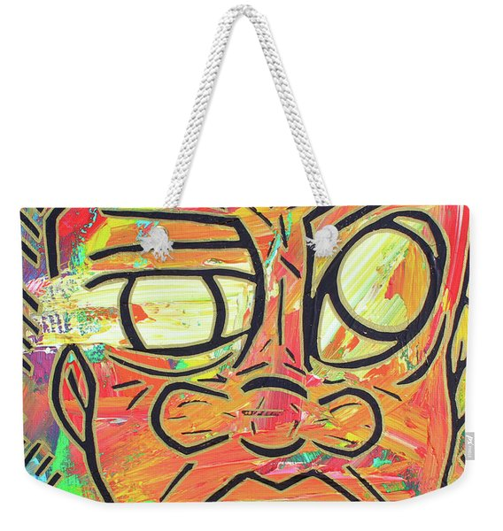 Nature Boy Weekender Tote Bag