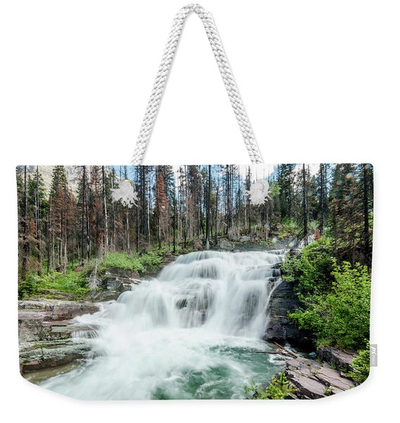 Nature Finds A Way Weekender Tote Bag