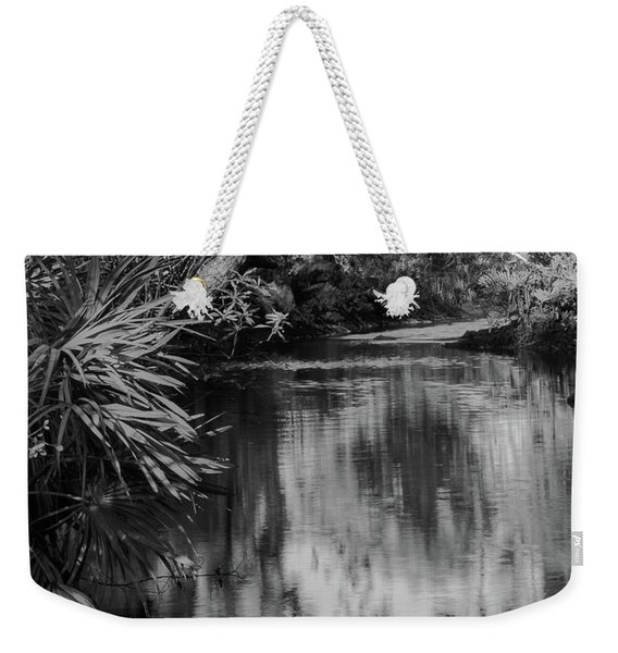 Nature In Black And White Weekender Tote Bag
