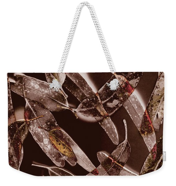 Nature In Design Weekender Tote Bag