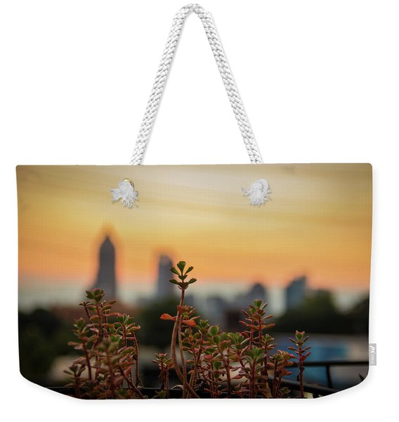 Nature In The City Weekender Tote Bag